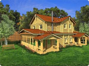 Проект дореволюционного загородного дома начала XX века