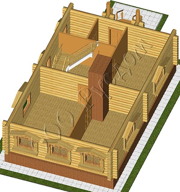 фото планировка сельского дома