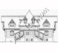 Центральный фасад терема Васнецова
