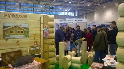 ООО Русдом: консультации на 23-й Выставке «Деревянное домостроение / Holzhaus»
