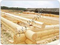 Сруб деревянного дома на заказ, рубленного в чашу