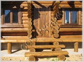 Фотография фасада русской бани