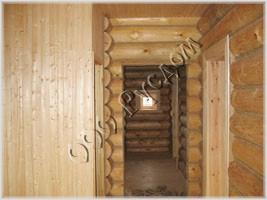 Фотография элементов отделки деревянного дома