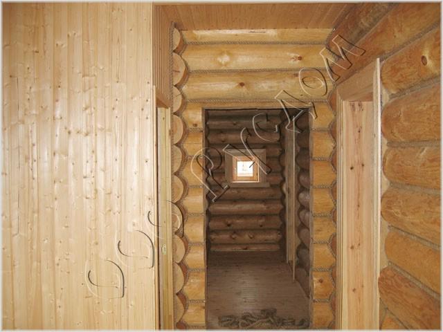 Стандартной отделки деревянного дома