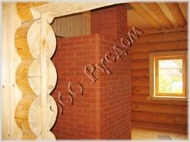 Подготовленный проем для установки косяка двери. Каменная печь. Печник Е. Колчин