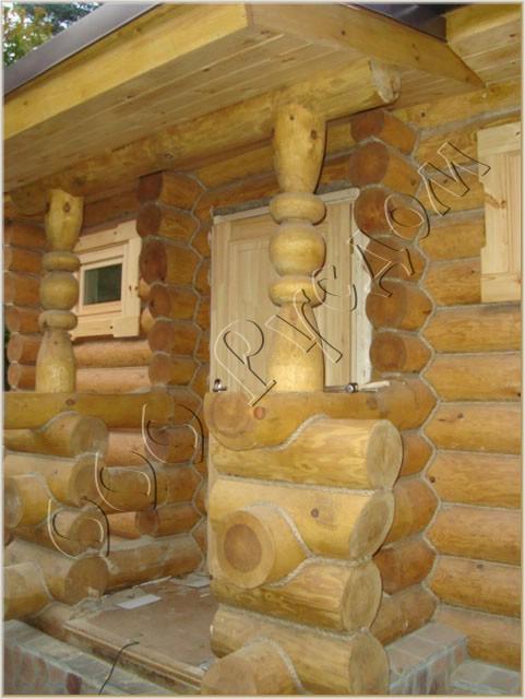 Украшение деревянного дома своими руками фото6