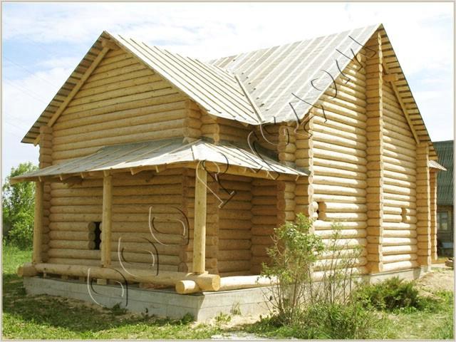 Сруб рубленного дома
