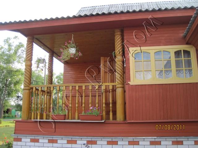 Деревянные дома и рубленые бани - галерея фотографий готовых.