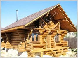 Фотографии готовых деревянных домов и