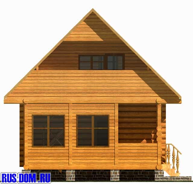 Дома проект дачного дома