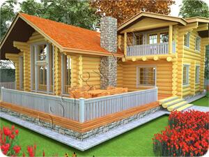Север - жилой двухэтажный дом для постоянного проживания - 250.0 кв.м