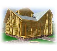 Возможный вид дома «Иван» со стороны веранды