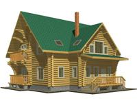 Проект усадебного трехэтажного дома Павел