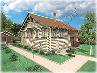 Проект северного крестьянского дома Алешкин дом
