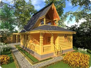 Старинный проект дома №2. Архитектор Г. Судейкин
