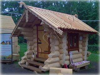 Выставочный образец детского домика