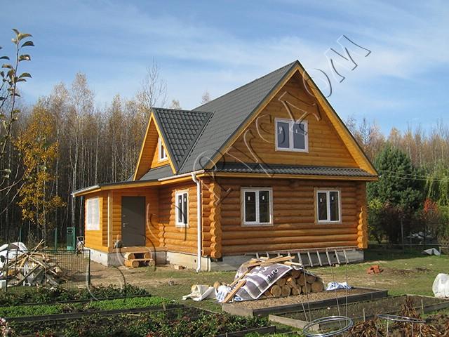 Дом на основе проекта Дачник-14