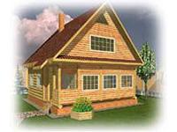 Проект дачного дома Дачник-3